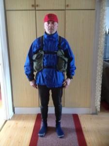 Metsästäjän reppu, jossa 4 taskua ja reppuosa. Valmistettu telttakankaasta.Ei kahise metsällä
